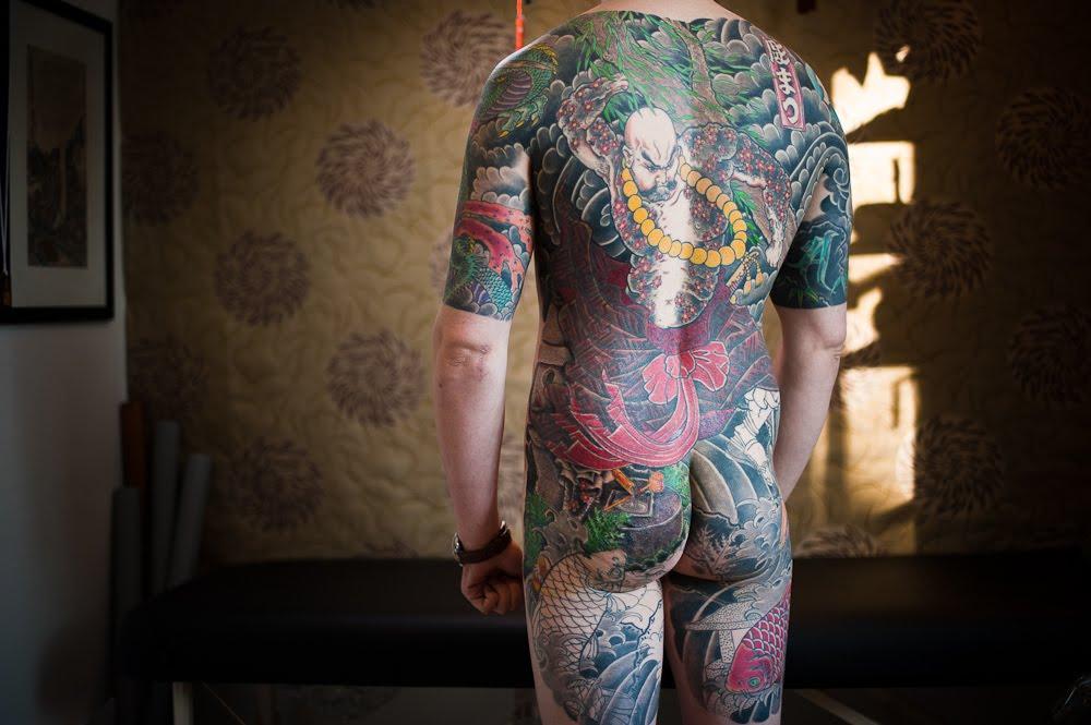 japanska tetovaža irezumi