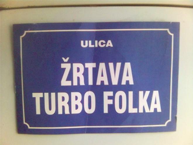 ulica žrtava turbo folka