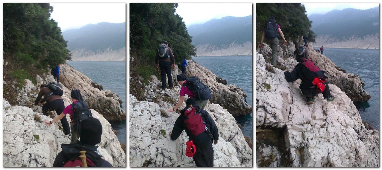 stijene, obala, more