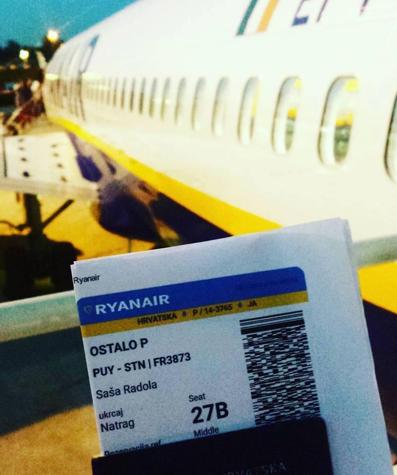 Ryanair Pula Croatia