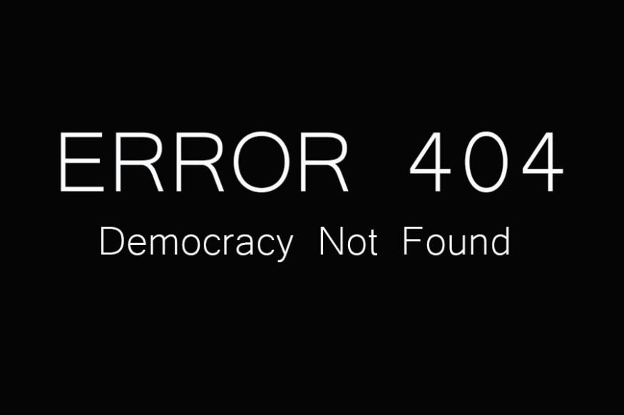 demokracija nije pronađena
