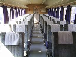 zeleni vlak - unutrašnjosst